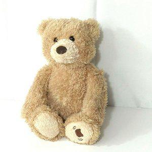 Baby Gund Peek A Boo Teddy Bear Tan Brown 13 inch